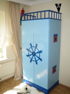 piratenbett kinderbett piratenschiff piratenschiffbett ebay. Black Bedroom Furniture Sets. Home Design Ideas
