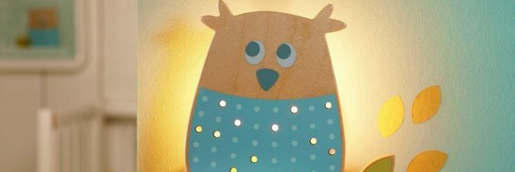 Eulen deko kinderzimmergestaltung eulenkissen teppiche oli niki - Kinderzimmer wald ...