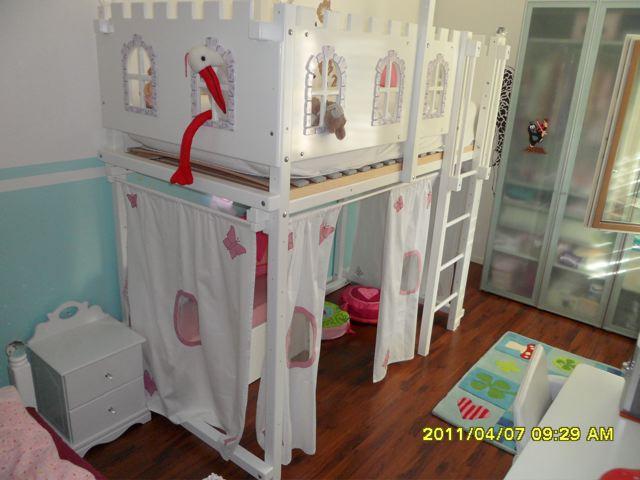hochbett madchen holz beste bildideen zu hause design. Black Bedroom Furniture Sets. Home Design Ideas