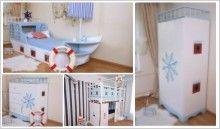 Maritimes Kinderzimmer oli niki kindermöbel himmelbett hochbetten für kinder