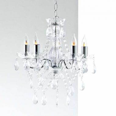 kronleuchter kristall in chrom bei oli niki kaufen. Black Bedroom Furniture Sets. Home Design Ideas