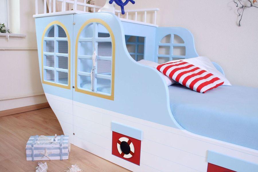 maritimes schiffbett bei oli niki online bestellen. Black Bedroom Furniture Sets. Home Design Ideas