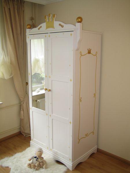 kleiderschrank 2 t rig prinzessin wei im shop von oli niki. Black Bedroom Furniture Sets. Home Design Ideas