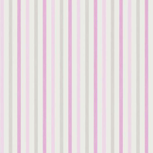 Tapete Gelb Grau Gestreift : Vliestapete gestreift rosa grau Oli&Niki