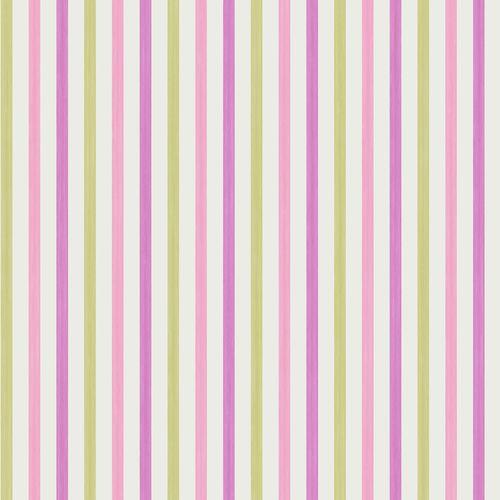 Kinderzimmer Tapeten Gestreift : Tapete gestreift pink/gr?n Oli&Niki