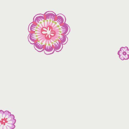 Kinderzimmertapete Bl Mchen Rosa Pink Oli Niki