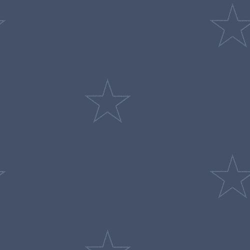 Muster Tapete Dunkelblau : Rasch Tapeten