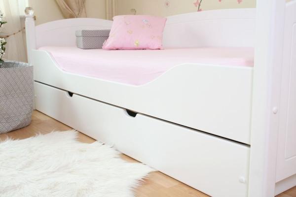 kinderbett kristallbett edition 3 in wei oli niki. Black Bedroom Furniture Sets. Home Design Ideas