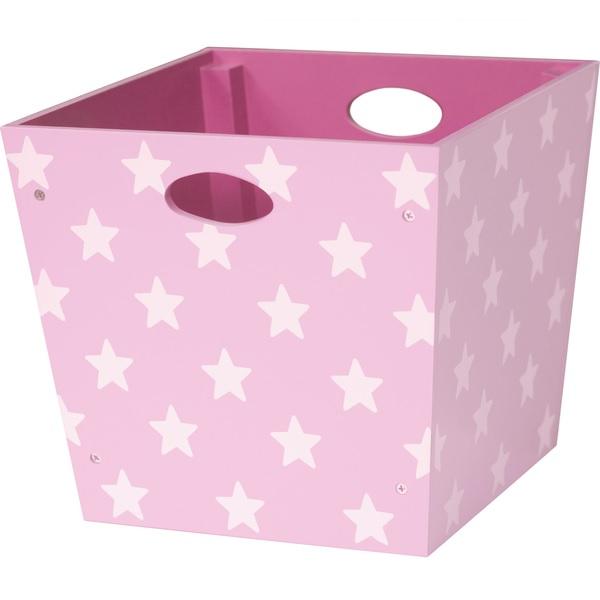 spielzeugbox rosa sterne oli niki. Black Bedroom Furniture Sets. Home Design Ideas