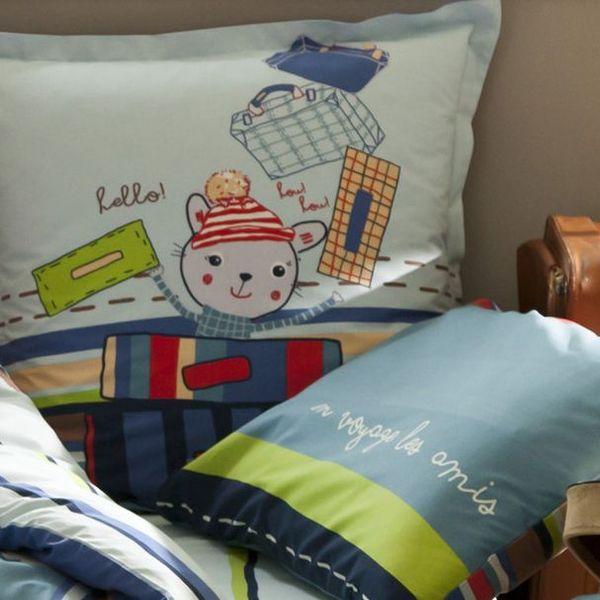 bettw sche en voyage les amis bei oli niki kaufen. Black Bedroom Furniture Sets. Home Design Ideas