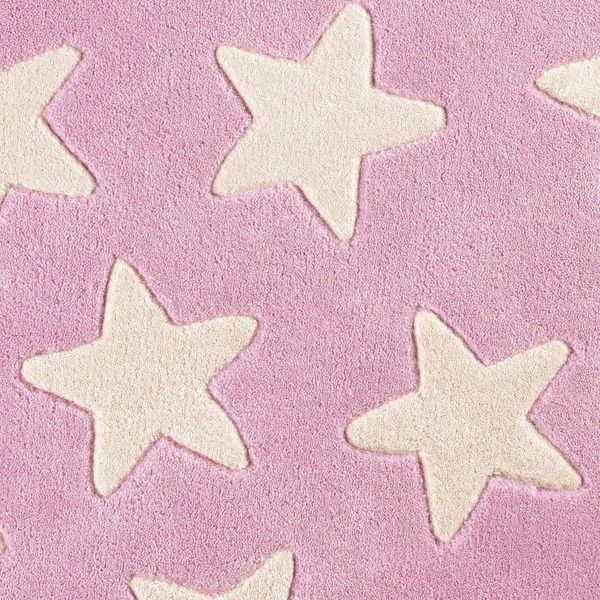 Kinderteppich sterne rosa  Kinderteppich Sterne rosa | Oli&Niki