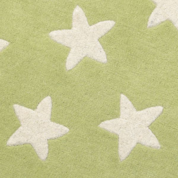 Kinderteppich sterne  Kinderteppich Sterne grün | Oli&Niki