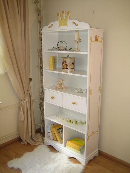 b cherregal prinzessin wei bei oli niki online bestellen. Black Bedroom Furniture Sets. Home Design Ideas