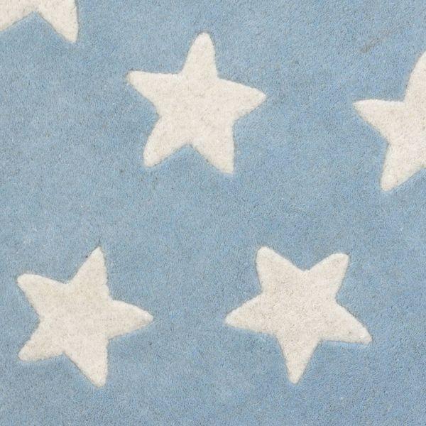 Kinderteppich blau stern  Kinderteppich Sterne blau | Oli&Niki