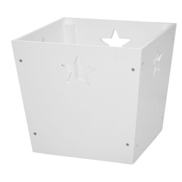 spielzeugbox star wei oli niki. Black Bedroom Furniture Sets. Home Design Ideas