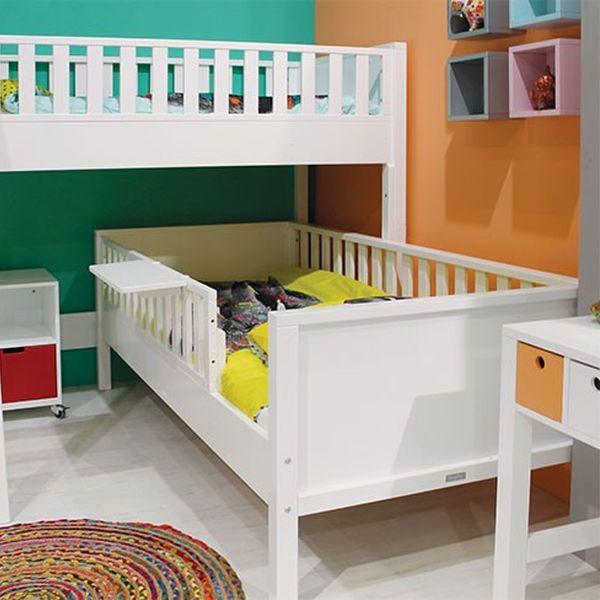 zeitloses basic bett nordic bopita in wei oli niki. Black Bedroom Furniture Sets. Home Design Ideas
