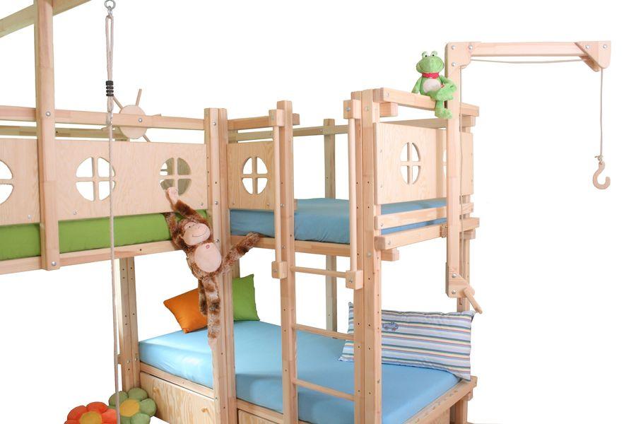 Etagenbett Drei Betten : Hochbett betten