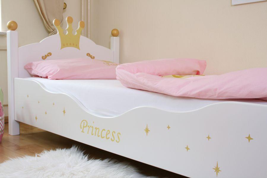kinderbett prinzessin weiss bei oli niki online bestellen. Black Bedroom Furniture Sets. Home Design Ideas