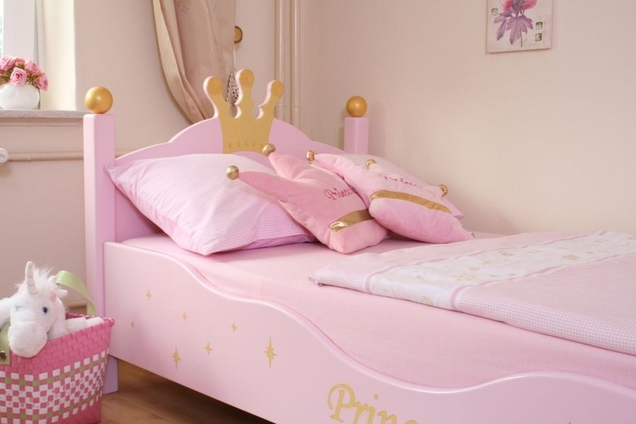 bett prinzessin rosa bei oli niki online bestellen. Black Bedroom Furniture Sets. Home Design Ideas