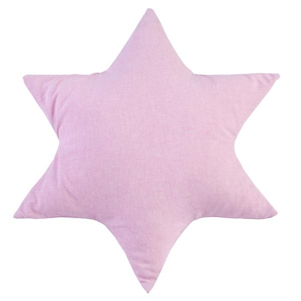 kissen stern rosa oli niki. Black Bedroom Furniture Sets. Home Design Ideas