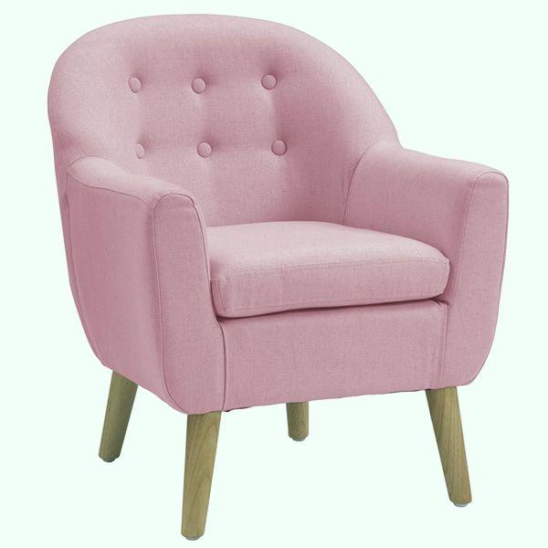 kindersessel rosa stoff oli niki. Black Bedroom Furniture Sets. Home Design Ideas