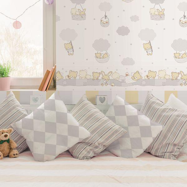 tapete wolken rosa oli niki. Black Bedroom Furniture Sets. Home Design Ideas
