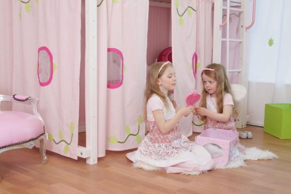 Hochbett Prinzessin in weiß bei Oli&Niki online bestellen.