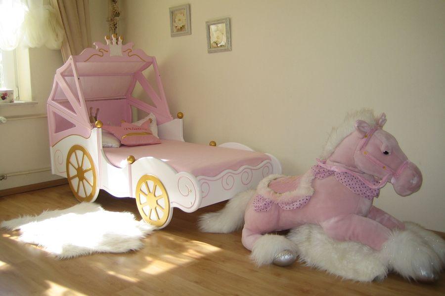Babybett k nigliche kutsche bei oli niki online bestellen - Lit en forme de carrosse ...