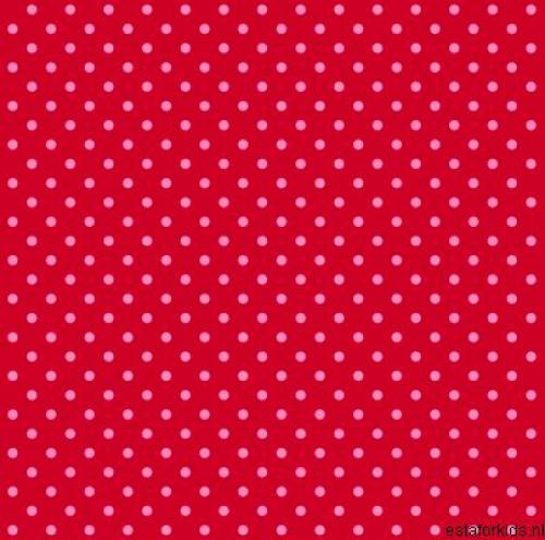 Kinderzimmertapete Rot Rosa Gepunktet Im Shop Von Oli Niki