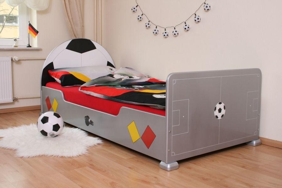 fu ballbett silber bei oli niki online bestellen. Black Bedroom Furniture Sets. Home Design Ideas