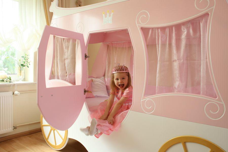 kinderbett kutsche prinzessin bei oli niki online bestellen. Black Bedroom Furniture Sets. Home Design Ideas