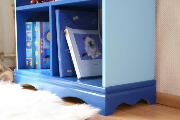 b cherregal pirat blau bei oli niki online bestellen. Black Bedroom Furniture Sets. Home Design Ideas