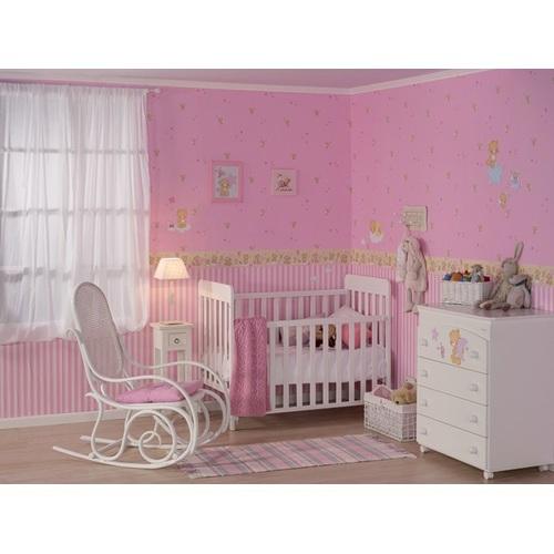 tapete streifen rosa im shop von oli niki kaufen. Black Bedroom Furniture Sets. Home Design Ideas