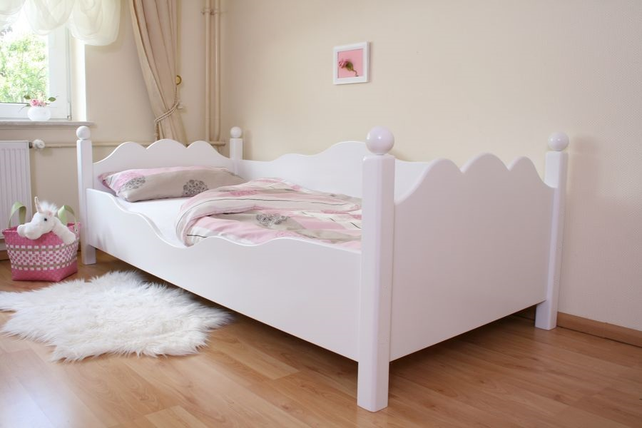 exclusives kinderbett weiss ed 2 im shop von oli niki. Black Bedroom Furniture Sets. Home Design Ideas