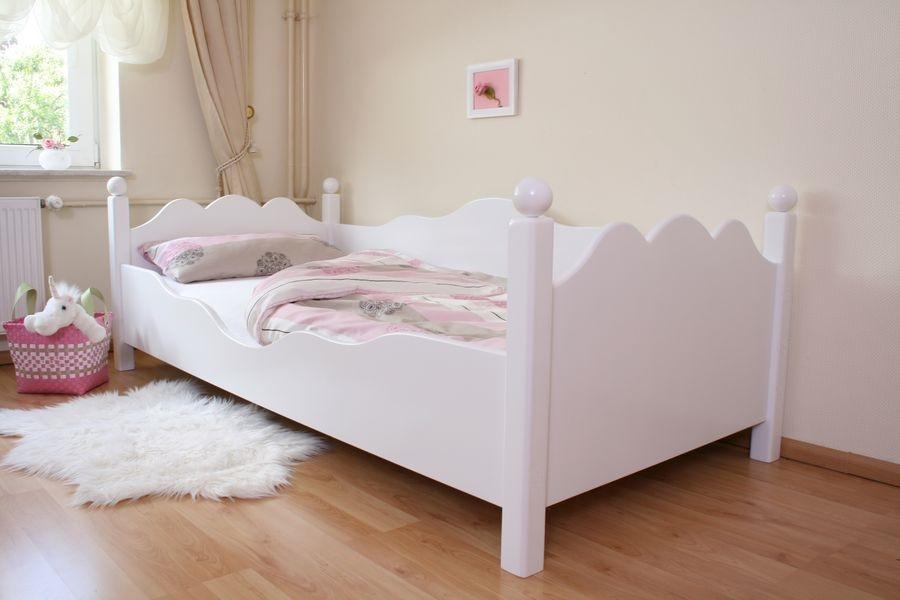 Exclusives Kinderbett weiss Ed.2 im Shop von Oli&Niki