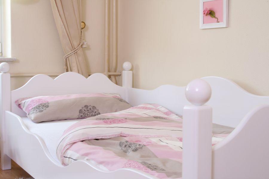 Kinderbett weiß 100x200  Exclusives Kinderbett weiss Ed.2 im Shop von Oli&Niki