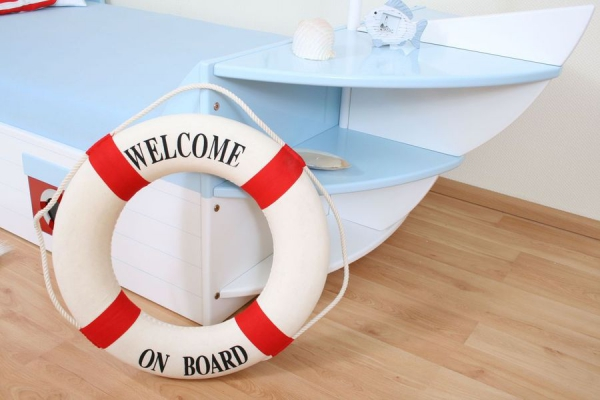 Kinderbett Boot Maritim bei Oli&Niki online bestellen.