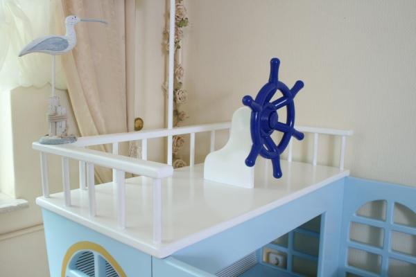 kinderbett boot maritim bei oli niki online bestellen. Black Bedroom Furniture Sets. Home Design Ideas
