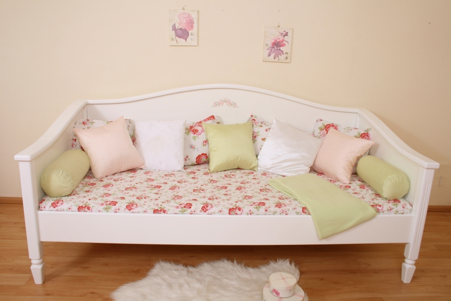 elegance bett shabby bei oli niki online bestellen. Black Bedroom Furniture Sets. Home Design Ideas