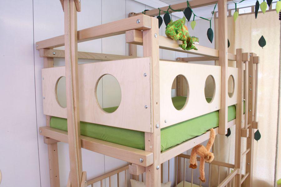 Etagenbett Unten Gitter : Doppelstockbett stockbett bett doppelbett etagenbett betten b