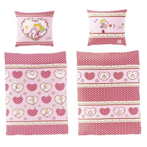 bettw sche prinzessin lillifee herzen im onlineshop von. Black Bedroom Furniture Sets. Home Design Ideas