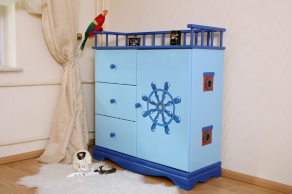 Kinderkommode Pirat Blau Xl Bei Oli Niki Online Bestellen