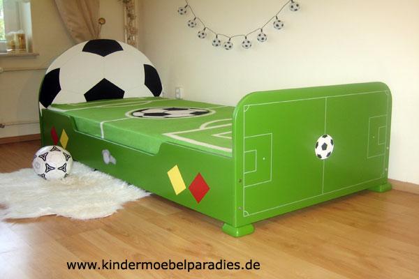 Fussballbett grün bei Oli&Niki online bestellen.