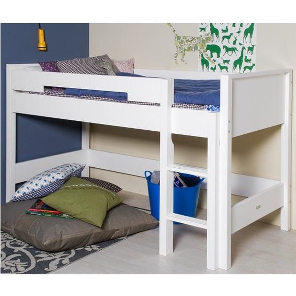 kinderbett 90 x 200 cm halbhoch mix match im shop von oli niki. Black Bedroom Furniture Sets. Home Design Ideas