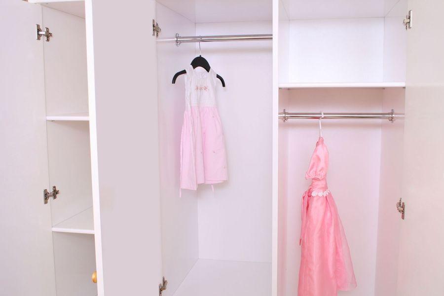 Kleiderschrank Prinzessin in weiß 3-türig im Shop von Oli&Niki