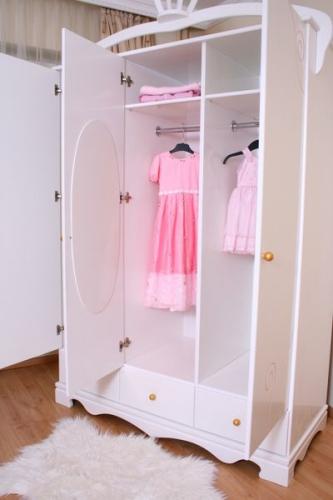 Kleiderschrank-Baby Exklusive weiß bei Oli&Niki kaufen