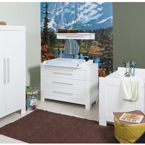 babybett genova bopita in wei im onlineshop von oli niki. Black Bedroom Furniture Sets. Home Design Ideas