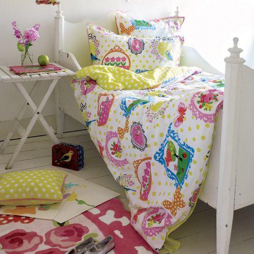 Kindertapeten Wonderland : Bettw?sche Wonderland Designers Guild im Shop von Oli&Niki