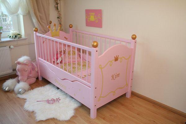 zauberhaftes babybett princess oli niki. Black Bedroom Furniture Sets. Home Design Ideas