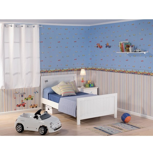 tapete rennauto beige bei oli niki online kaufen. Black Bedroom Furniture Sets. Home Design Ideas